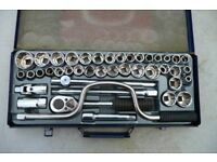 "Socket Set, hand tools set, wrench set 1/2"" Drive AF/MM / WW Combination"
