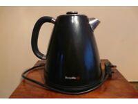 Breville Aurora Black Cordless Electric Jug Kettle 3KW Quick Boil VKJ783