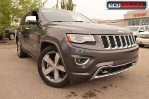 2014 Jeep Grand Cherokee Overland|Sun|Nav|H/C Leath|Heat Wheel|A