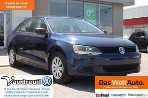 2012 Volkswagen Jetta 2.0L Trendline + A/C + AUTOMATIQUE + BANCS