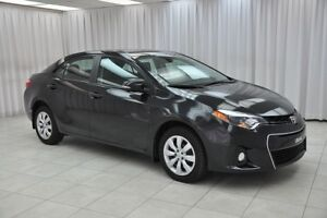 2014 Toyota Corolla QUICK BEFORE IT'S GONE!!! S 6SPD SEDAN w/ BA
