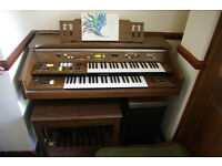 Yamaha Electone Electric Organ with Song Book and Stool
