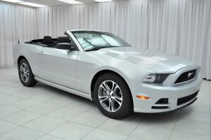 2014 Ford Mustang PREMIUM V6 6SPEED 4PASS CONVERTIBLE COUPE w/ A