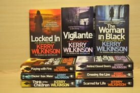 9 murder books in a series