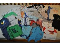 Twin Boy Clothes (0-12 Month)
