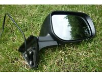 Black wing mirror, Excellent condition