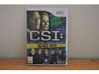 CSI Wii game