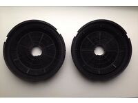 PAIR of Charcoal Filters For Baumatic Hoods (Pack of 2) ST1 Fitting