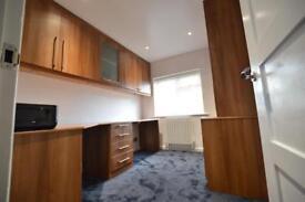 Oak Study Home Office Room Wardrobe Desk Furniture