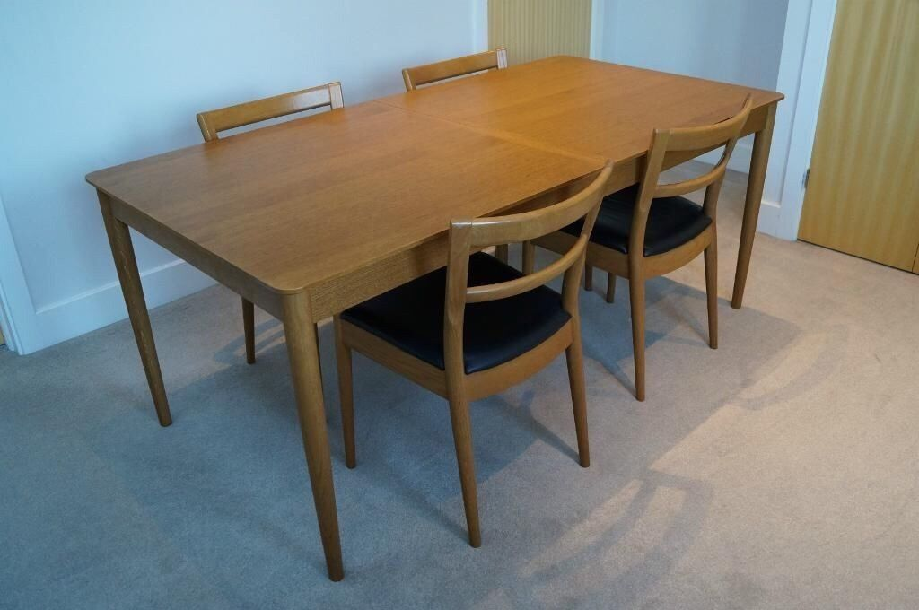 Ikea Stockholm Dining Table And Six Chairs