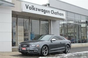 2015 Audi S5 3.0T Technik Navigation, Heated Leather