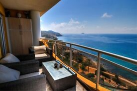 LUXURY FRONT LINE 2 BED PENTHOUSE ON COSTA BLANCA WITH STUNNING VIEWS