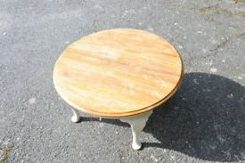 Round coffee table 77cm Solid & heavy