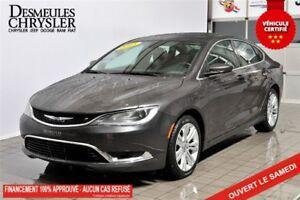 2015 Chrysler 200 LIMITED*V6*DÉMARREUR*TOIT*ECRAN 8.4