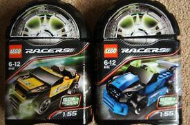 LEGO System Racers 8148 EZ-Roadster & 8151 Adrift Sport