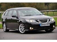2009 Saab 9-3 1.9 TiD Vector Sport SportWagon 5dr+DIESEL+FREE WARRANTY+FULL SERVICE+VERY HIGH SPEC.