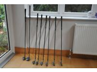 Clubs 6,7,8,9. Woods 4&5. An S & A P. Ben Sayers....M7 Series