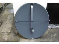 TRIAX 78/80cm SATELLITE DISH, ARM and QUAD LNB
