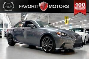 2014 Lexus IS 350 F Sport AWD | LTHR | NAV | BACK CAM | HEATED S