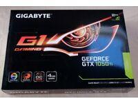 Gigabyte GTX 1050 Ti G1 Gaming 4GB GDDR5 Graphics Card