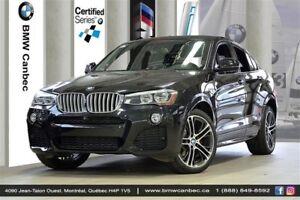 2015 BMW X4 xDrive35i / SUPÉRIEUR / EXÉCUTIF / ÉCLAIRAGE