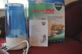 Vicks Warm Mist Air Humidifier