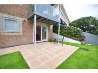 SANDBANKS PENINSULA: FULLY FURNISHED: GROUND FLOOR APARTMENT: OFFERS SHARED GARDEN