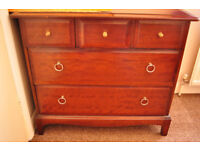 2 large and 3 small drawers chest unit