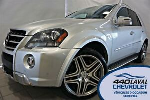 2011 Mercedes-Benz M-Class ML63 AMG 4MATIC GPS 503 HP