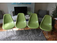 Eames Eiffel chairs (set of 4)