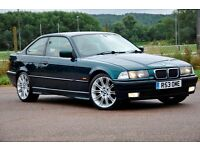"1997 BMW 3 Series 2.8 328i 2dr+COUPE+12 MONTHS MOT+JUST SERVICED+18"" ALLOYS+FULL LEATHER"