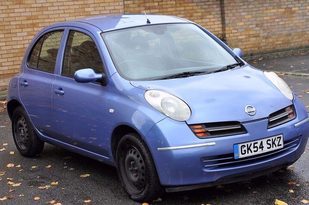 2004 NISSAN MICRA SE 5DR AUTO - LOW MILEAGE
