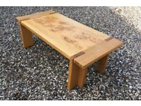 Light Oak finish coffee table