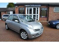 NISSAN MICRA 1.4 SVE 5d AUTO 88 BHP ONLY 50.000 MILES!! (silver) 2005