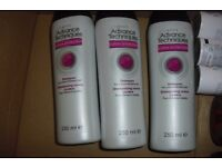 NEW 3 BOTTLES OF AVON ADVANCE COLOUR PROTECTION SHAMPOO EACH ONE IS 250 ML