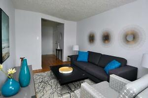 CENTRALLY LOCATED 2 BED+ BALCONY  NEAR BRIDGE! $99 1ST MONTH!!