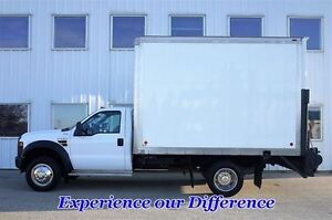 2009 Ford F-550 CHASSIS CAB 4X4 Cube Van Dually XL