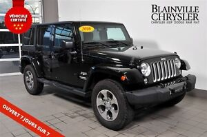 2016 Jeep WRANGLER UNLIMITED UNLIMITED SAHARA - 2 TOITS - NAVI -