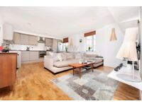 MODERN LARGE ** 2BED ** 1BATH ** HAGGERSTON ** PART FURNISHED ** GATED **