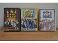 High School Musical DVDs