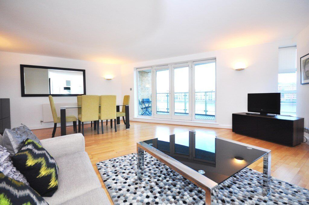 DIRECT RIVER VIEWS - HUGE 2 BED 2 BATH LUXURY APARTMENT IN SOUTHBANK SOUTHWARK SE1!