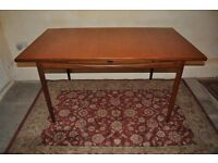 Retro Vintage 1960s G Plan Kofod LarsonTeak Dining Table Danish style