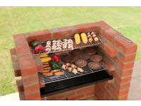 BUILT IN BRICK DIY BBQ KIT + Charcoal Grid + Fat Collector + ROTISSERIE UNIT !