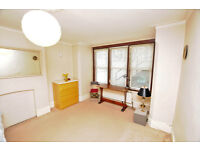 Spacious double bedroom garden flat in central Chiswick just off the High Rd. Recep, kit, bath & bed