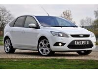 2008 Ford Focus 2.0 TDCi Titanium 5dr+DIESEL+FREE WARRANTY+6 SPEEDS+FULL SERVICE HISTORY+SPORTS