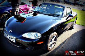 Mazda MX5 1.6 2002 'Modified' in Black