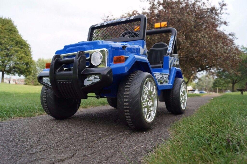 Kids 12v Ride on Jeep 4x4 Truck