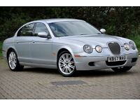 2007 Jaguar S-Type 2.7 D DIESEL+V6 SE AUTOMATIC+4 DOORS+1 LADY OWNER FROM NEW+SAT NAVIGATION