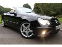 Mercedes clk 350 amg v6 sport convertible automatic LOW MILES