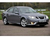 2008 Saab 9-3 2.0 T Aero 4 DOORS+AUTOMATIC+LOW MILEAGE+FULL LEATHER+FSH+HEATED SEATS+WARRANTY